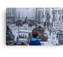 US-Army Checkpoint Charlie Canvas Print