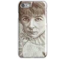 The apprehensive stear  iPhone Case/Skin