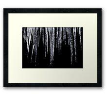 Nature's Chandalier Framed Print