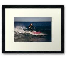 Cruising On The Malibu Framed Print