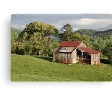 Weathered Old Barn Canvas Print