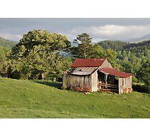 Weathered Old Barn Photographic Print