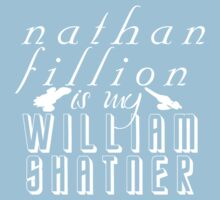 Nathan Fillion is my William Shatner Kids Tee