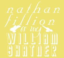 Nathan Fillion is my William Shatner Baby Tee