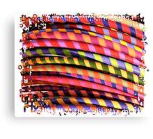 Hula Hoops Canvas Print