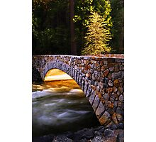 Crossing the Merced (Yosemite Valley) Photographic Print