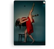 ballet 07 Canvas Print