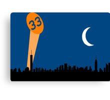 """33"" Signal Canvas Print"