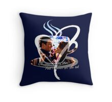 Castle - In My Veins Throw Pillow