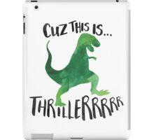 Dino Thriller iPad Case/Skin