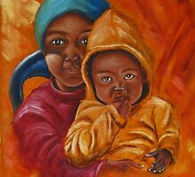 Brother and Sister by Violette Grosse
