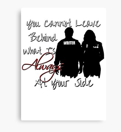Always At Your Side Canvas Print
