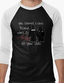 Always At Your Side Men's Baseball ¾ T-Shirt