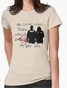 Always At Your Side Womens Fitted T-Shirt
