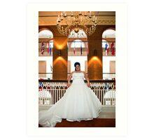 bridal Art Print