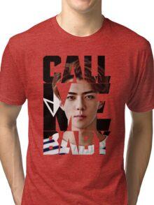 EXO Sehun 'Call Me Baby' Tri-blend T-Shirt