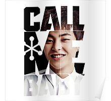 EXO Xiumin 'Call Me Baby' Poster