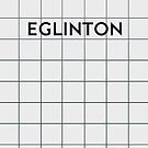 EGLINTON Subway Station by Daniel McLaren