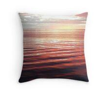 Pink Sunset II Throw Pillow