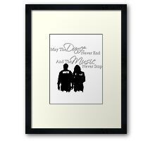 May the Dance Never End Framed Print