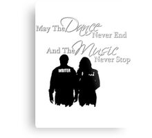 May the Dance Never End Metal Print