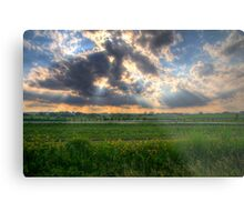A Beautiful End to a Beautiful Day Metal Print