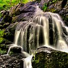 HORNBECKS CREEK , INDIAN LADDER FALLS  by MIKESANDY
