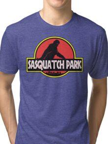 Sasquatch Park Bigfoot Parody T Shirt Tri-blend T-Shirt