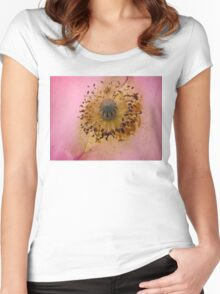 Poppy Pollen Dust Women's Fitted Scoop T-Shirt