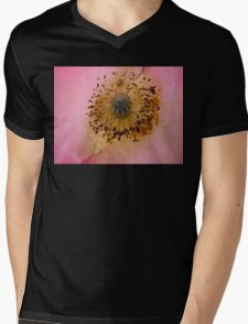 Poppy Pollen Dust Mens V-Neck T-Shirt