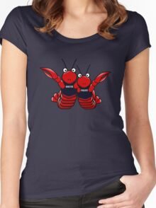 She's his lobster Women's Fitted Scoop T-Shirt