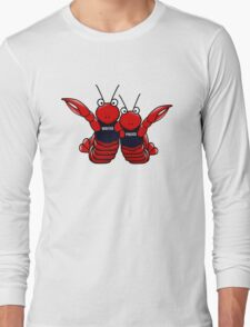 She's his lobster Long Sleeve T-Shirt