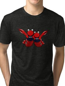 She's his lobster Tri-blend T-Shirt