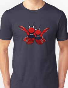 She's his lobster Unisex T-Shirt