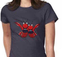 She's his lobster Womens Fitted T-Shirt