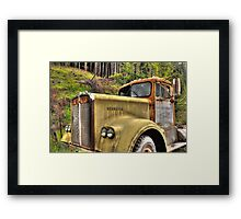old KW near Ashland Or. Framed Print