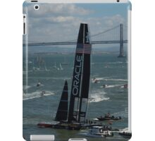 """The USA Oracle wins the America's Cup"" iPad Case/Skin"