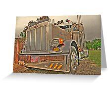 2004  Peterbilt 379 Greeting Card