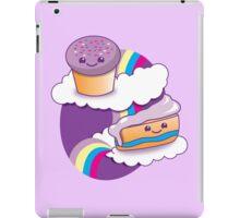 Super cute Yummy yummy Rainbow cakes iPad Case/Skin
