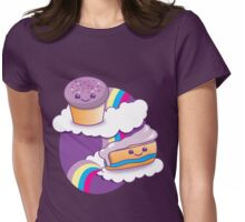Super cute Yummy yummy Rainbow cakes Womens Fitted T-Shirt