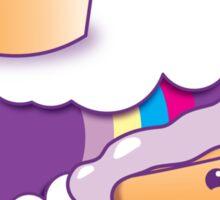 Super cute Yummy yummy Rainbow cakes Sticker