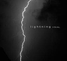 A lifetime is a flash of lightning in the sky by FLASHFLOOD