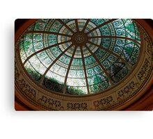 Pennsylvania Supreme Court Chamber Dome Canvas Print