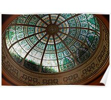 Pennsylvania Supreme Court Chamber Dome Poster