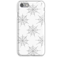 Spooky on White iPhone Case/Skin