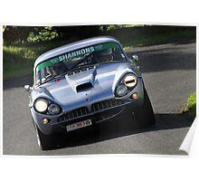 1963 Jensen CV8 Poster