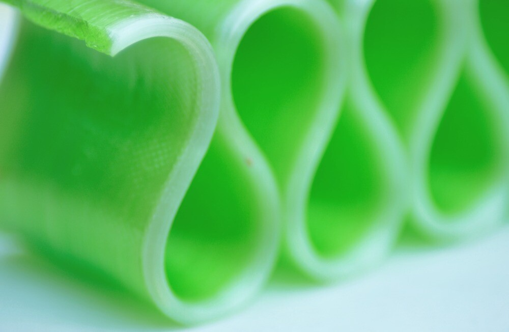 Ribbon Candy:  Green by Kristen Love