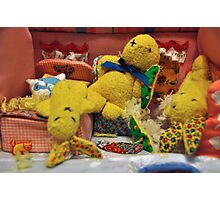 Bunny Family Massacre # 1 Photographic Print