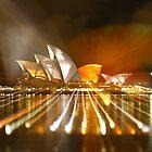 Vivid 2010 - Sydney Opera House by Dean Perkins