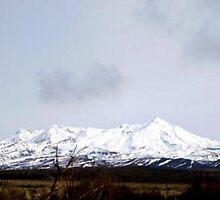 Mt. Ruapehu II by Elizabeth Rose Rawlings